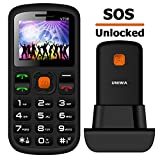 MOSTHINK Unlocked Senior Phone 1.77' 2G GSM T-Mobile Big Button SOS Cell Phones for Seniors Kids(T-Mobile Only)