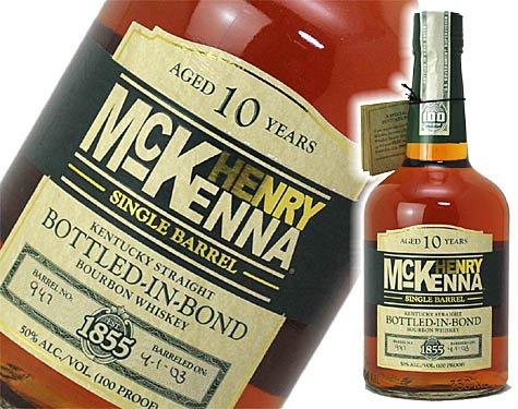 ヘンリーマッケンナ 10年 シングルバレル 750ml 50度 箱なし [並行輸入品]