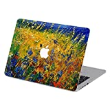 Customized Famous Painting Series Blossom Lavender Special Design Water Resistant Hard Case for Macbook Pro 13'' with Retina Display (Model A1425/a1502)
