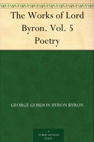 symbolism in lord byron poems Byron wrote many poems of his situation involving his love for mary, and his constant wish for it to be returned (propellant) in a great deal of lord boron's poetry, there is a noticeable correlation in theme, symbolism, and personification, which all point to his ever-present, single- sided love.