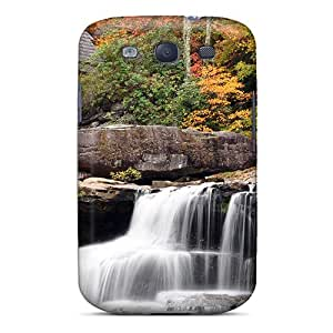 Hot Tpye Autmn Waterfall Case Cover For Galaxy S3
