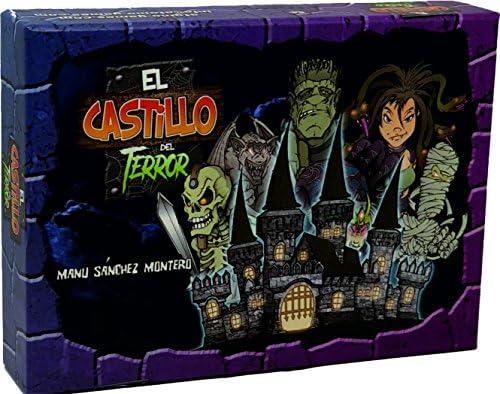 El Castillo Del Terror El Juego De Mesa átomo Games Bgcastillo Amazon Es Juguetes Y Juegos