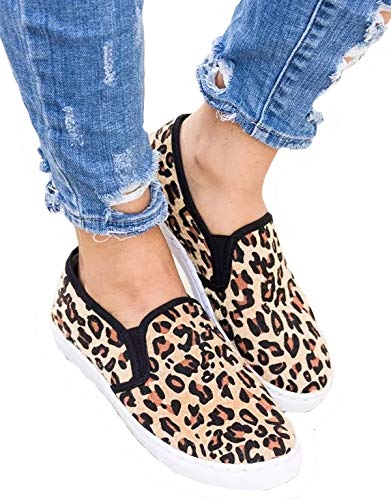 - Womens Quilted Plaid Loafers Slip On Flatforms Flats Shoes Platform Sneakers