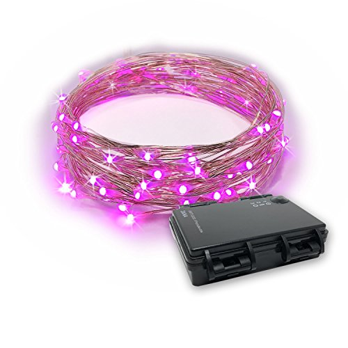 Pink Led Holiday Lights in US - 1