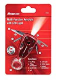 Snap-on 870452 Multifunction Keychain with Led Light, Outdoor Stuffs
