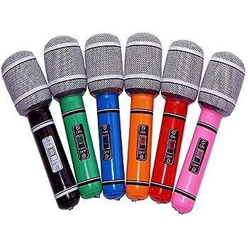 Amazon.com: Generic micrófonos de plástico inflable ...