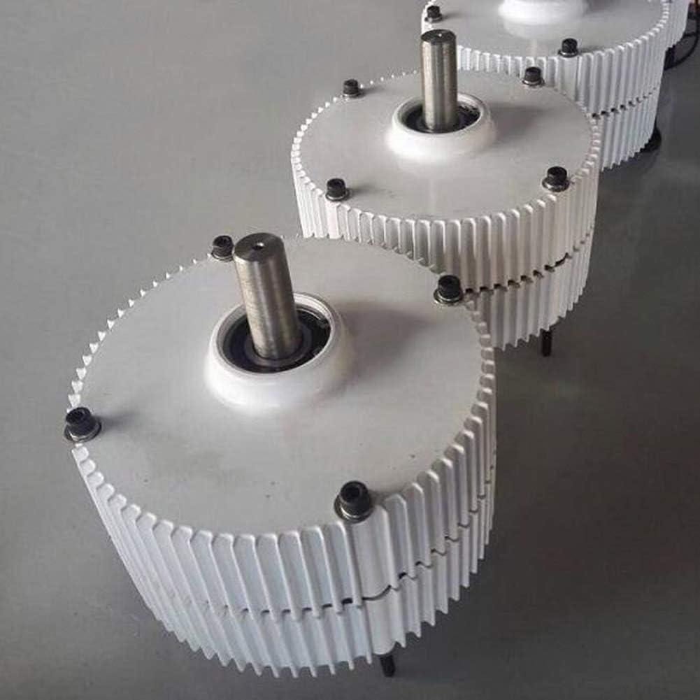 DAXINYANG Baja Velocidad de rotación 300W 400W 12V / 24V / 48V Salida Generador de imanes permanentes Alternador de turbina eólica RPM Bajas PMG,Doubleshaft,12V300W