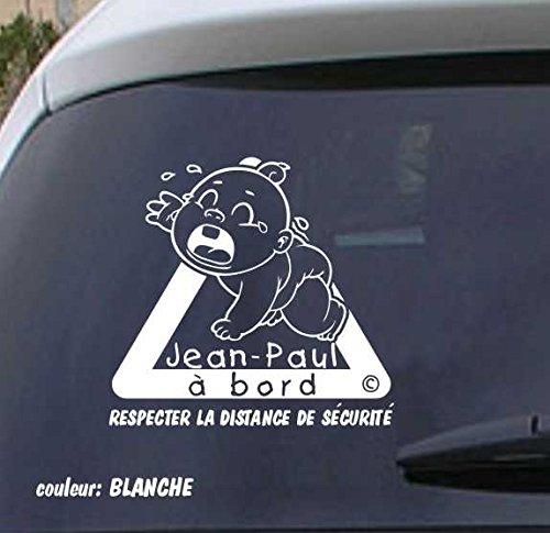 Sticker Autocollant Bébé à bord personalisé VPCF07 VPM Original
