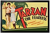 Tarzan Door Mat Floor Mat - The Fearless, 1933 (24 x 16 inches)