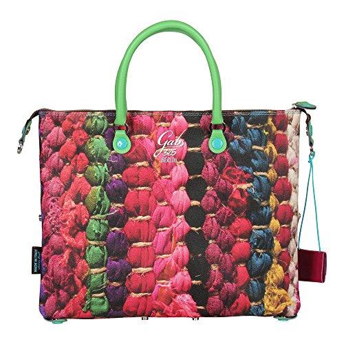 GABS Damen Handtasche G3 STUDIO Gr.M Carpet (mehrfarbig)