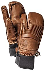Short freeride glove made of soft, supple cowhide aniline. Outseams for increased comfort and superior pole grip.