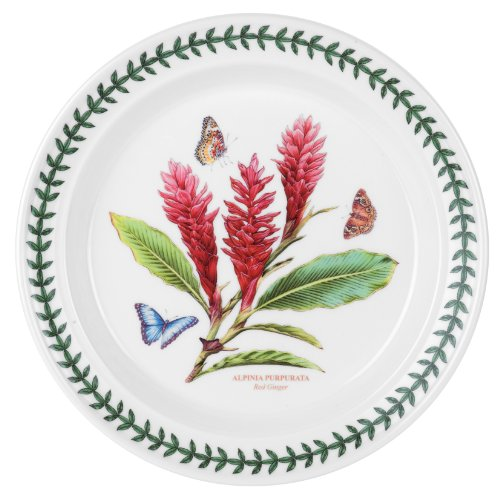 Portmeirion Exotic Botanic Garden Dinner Plate Set with 6 Assorted Motifs by Portmeirion (Image #5)