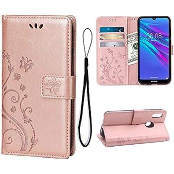 Amazon.com: ISADENSER Huawei Y6 2019 Case Luxury Mirror ...
