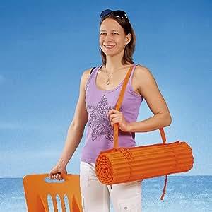 Playa (160x 60Colchón de aire con almohada