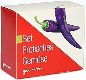 Set erótica verduras–La estupenda de regalo.: Incluso säen, züchten y cosecha–Un toque de color en la cocina.