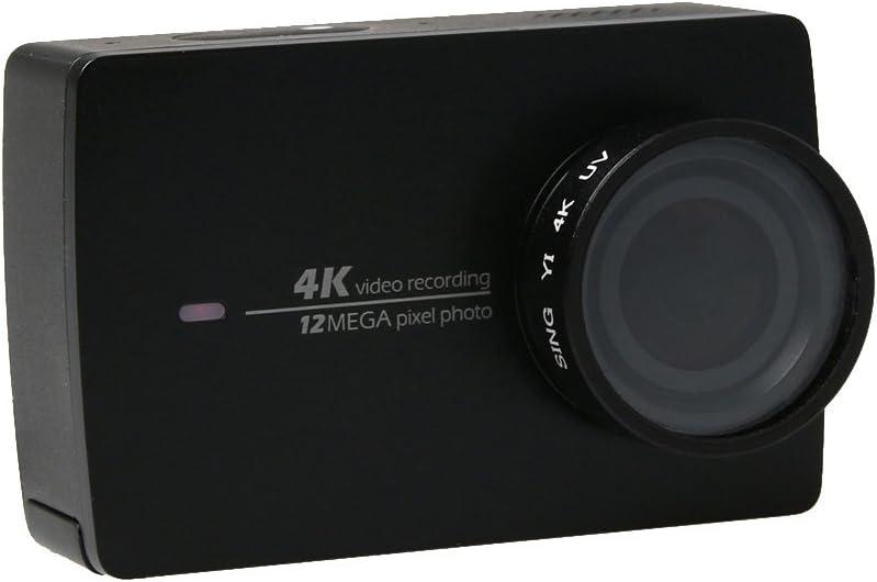 PULUZ Sing Proffesional 4K UV Ultra Violet Lens Filter 24mm for Xiaomi Xiaoyi Yi II 4K 4K Sport Action Camera Black