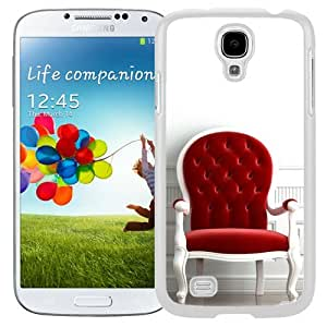 New Beautiful Custom Designed Cover Case For Samsung Galaxy S4 I9500 i337 M919 i545 r970 l720 With Red Chair (2) Phone Case