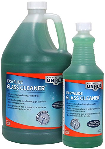 Unger Professional Streak-Free EasyGlide Glass Cleaner Concentrate (Makes 25 Gallons), 32 oz