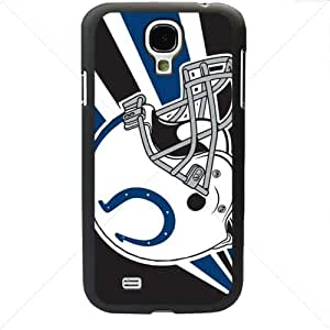 NFL American football Indianapolis Colts Fans Samsung Galaxy S4 SIV I9500 TPU Soft Black or White case (Black)