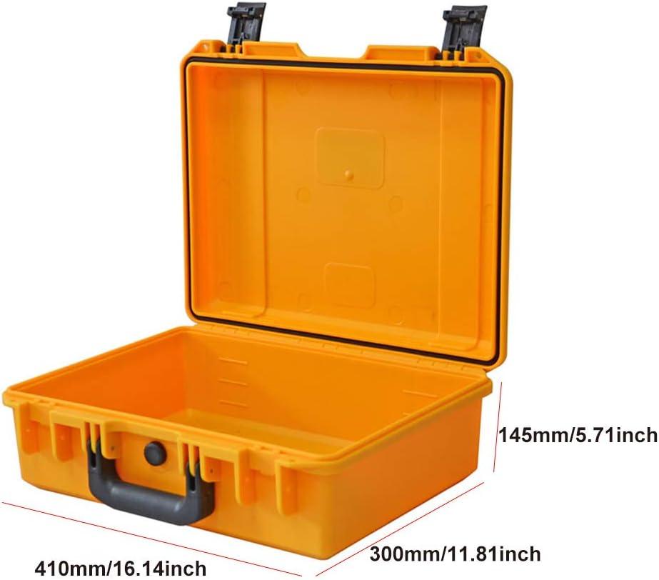 Malet/ín de Transporte r/ígido Tipo Caja de Herramientas