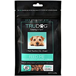 Real Meat Organic Dog Food-Feed Me: Freeze Dried Raw Superfood for Optimal Canine Health and Natural Longevity - All Natural - Balanced Nutrition - No Filters, No Grain - Just Add Water (Turkey, 14oz)