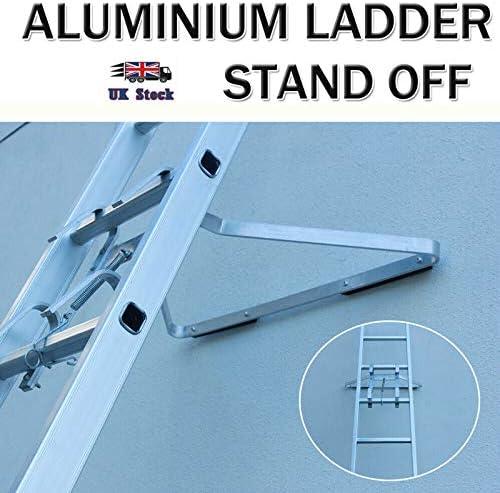Escalera de aluminio resistente en forma de I para desmontar y escalera, ligera, fácil de instalar: Amazon.es: Bricolaje y herramientas