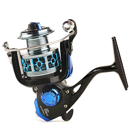 Entsport Saltwater/Freshwater Spinning Reel Metal Spool Spinning Fishing Reel Spin Fishing Reel Right/Left Retrieve Inshore Spin Reel (2000 ()