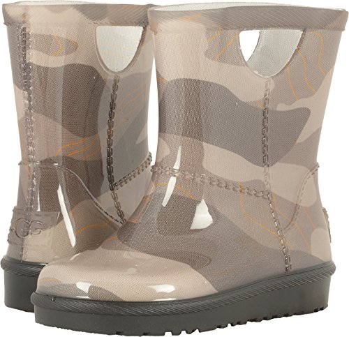 UGG Little Kids Rahjee Camo Boot Slate Size 12 M US Little Kid (12 Ugg Kids Size)