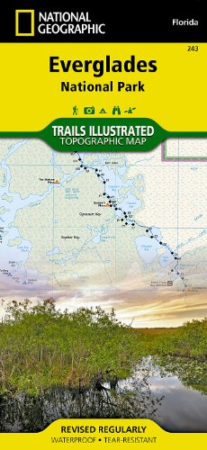 Everglades National Park Hiking (Everglades National Park (National Geographic Trails Illustrated Map))