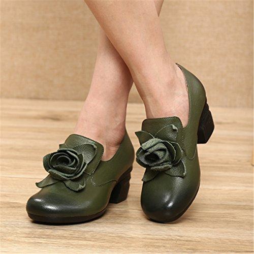 Mujer Primavera Mujer Verano Cuero Ballet Zapatos Zapatos Socofy Mocasines C de Casuales Mujer Plano Informal Zapatos de Mocasines de w6p6xCq