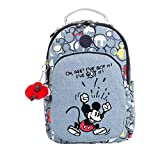 Kipling Disney's 90 Years Of Mickey Mouse Seoul Go Small Backpack One Size Three Cheers Bl 2
