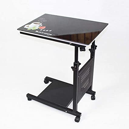 Amazoncom Tables ZRWall Moving Bedside Computer Desk Desk - Liftable table