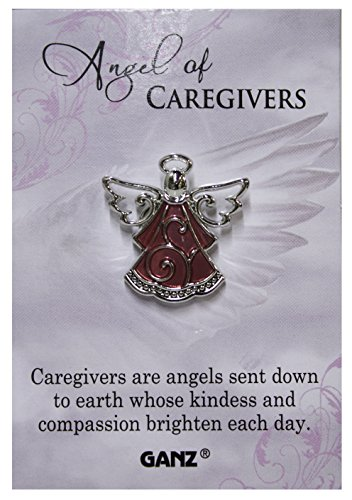 Ganz Angel of Caregivers Tac Pin with Story ()