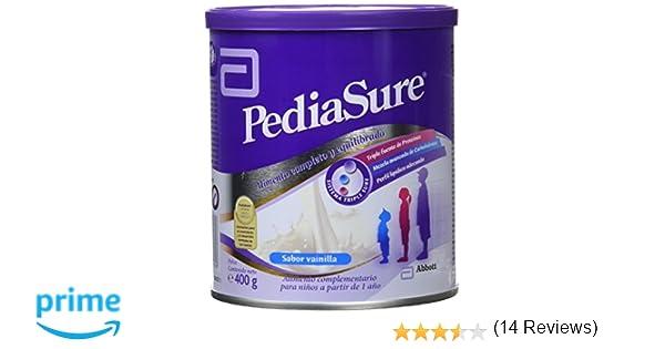 PediaSure - Complemento Alimenticio para Niños con Proteínas, Vitaminas y Minerales, Sabor Vainilla - 400 gr [versión antigua]