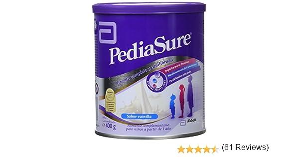 PediaSure Polvo lata 400g sabor vainilla. Alimento completo y equilibrado para niños a partir de 1 año de edad: Amazon.es: Salud y cuidado personal