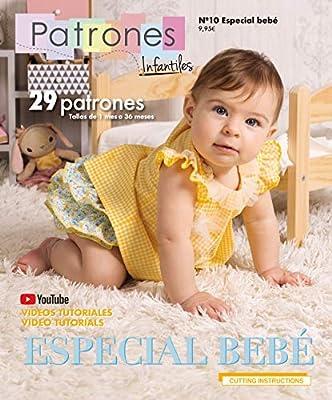 Revista Patrones Infantiles Nº10 Especial Bebé 29 Modelos de ...