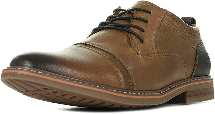 Skechers Bregman Selone 66402TAN, Chaussures de Ville