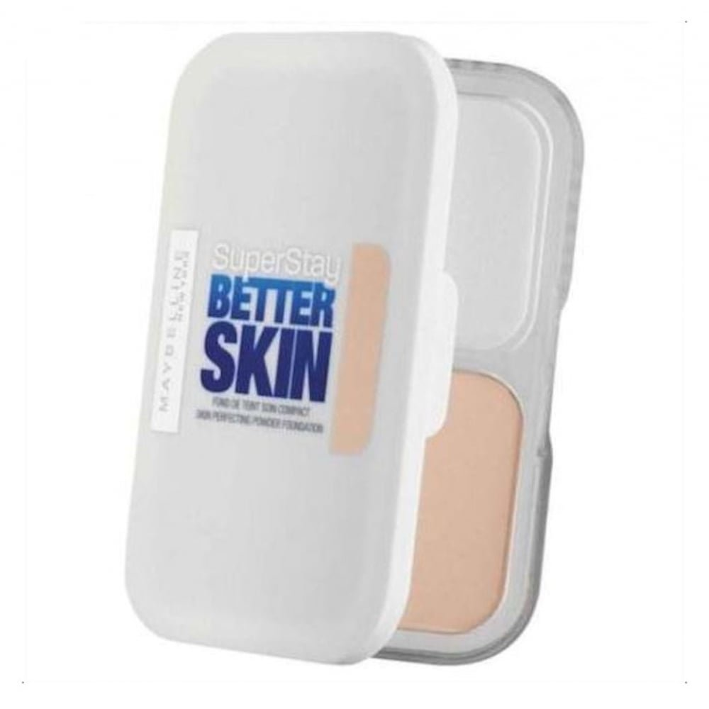 3 x Maybelline Superstay Better Skin Powder Compact Foundation 9g - 020 Cameo Maybelline New York