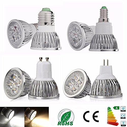 Dimmable LED Lamp E27 E14 GU10 MR16 Lampada LED Spotlight GU10 9W 12W 15W 85-265V MR16 12V Spot Luz LED Bulbs Lighting(10pcs) Cool White,E14 15W