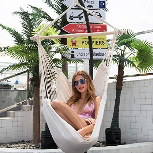 ONERIOME Garden Hammock Chair Portable Travel Camping Hanging Hammock Swing Chair Hammocks