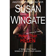 """Hotter than Helen (A Romantic Mystery): A Bobby's Diner Novel (The """"Bobby's Diner"""" Series Book 2)"""