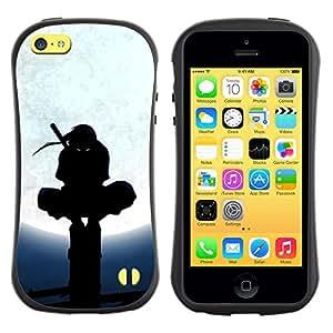 Be-Star Impreso Colorido Diseño Antichoque Caso Del iFace Primera Clase Tpu Carcasa Funda Case Cubierta Par Apple iPhone 5C ( Samurai Ninja Warrior )
