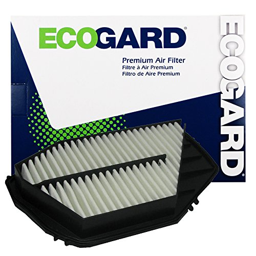 ECOGARD XA4873 Premium Engine Air Filter Fits Honda Accord, Odyssey / Acura CL / Isuzu Oasis