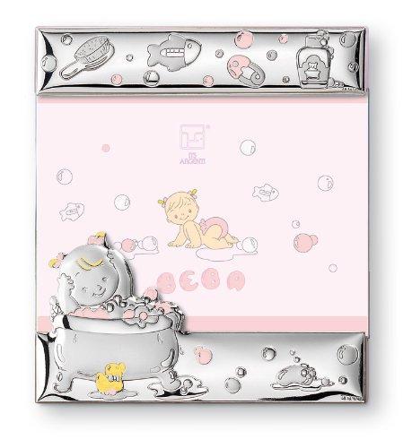 低価格 Silver Touch USA Sterling Pink Silver B00LIV2NDW Bath Touch Time Picture Frame, Pink by Silver Touch USA B00LIV2NDW, 沖縄 土産ギフトの沖縄savira:411b5a88 --- narvafouette.eu
