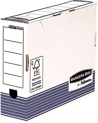 New 10 x Fellowes Bankers Box Transfer File 80mm Foolscap 1180001 Free 24h