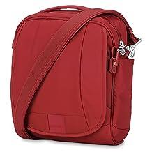 PacSafe Metrosafe LS200 Anti-Theft Shoulder Bag, Vintage Red