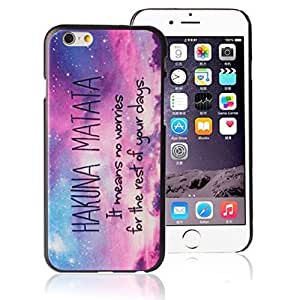 Pooqdo(TM) 2015 Hot Sell Mandala Flower Pattern Clear Hard Case Cover Skin For iphone 6 4.7Inch ( Galaxy Star)