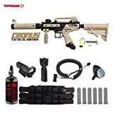 Cheap MAddog Tippmann Cronus Tactical HPA Red Dot Paintball Gun Package – Black/Tan