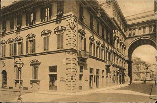 Banca d'America e d'Italia Rome, Italy Original Vintage Postcard