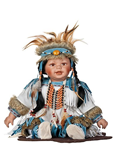 Golden Keepsakes Collectible Heirloom Native American 24